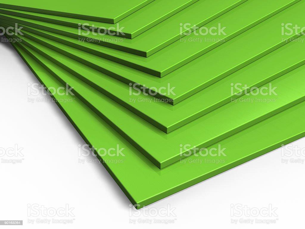 green planks stock photo