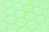 green plastic pattern background