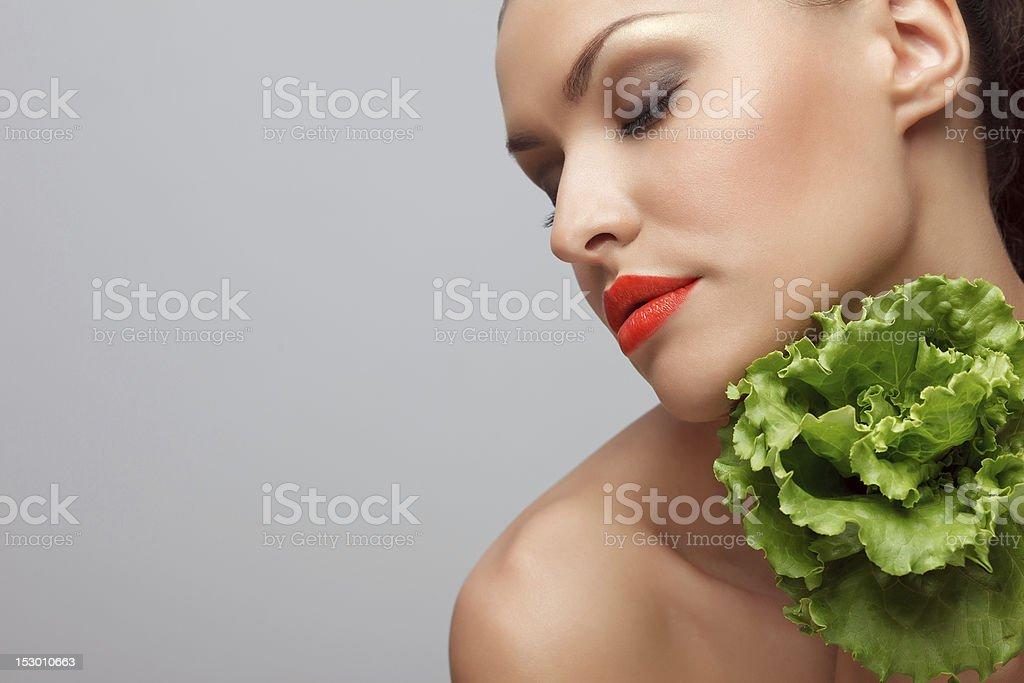 Green pleasure. royalty-free stock photo