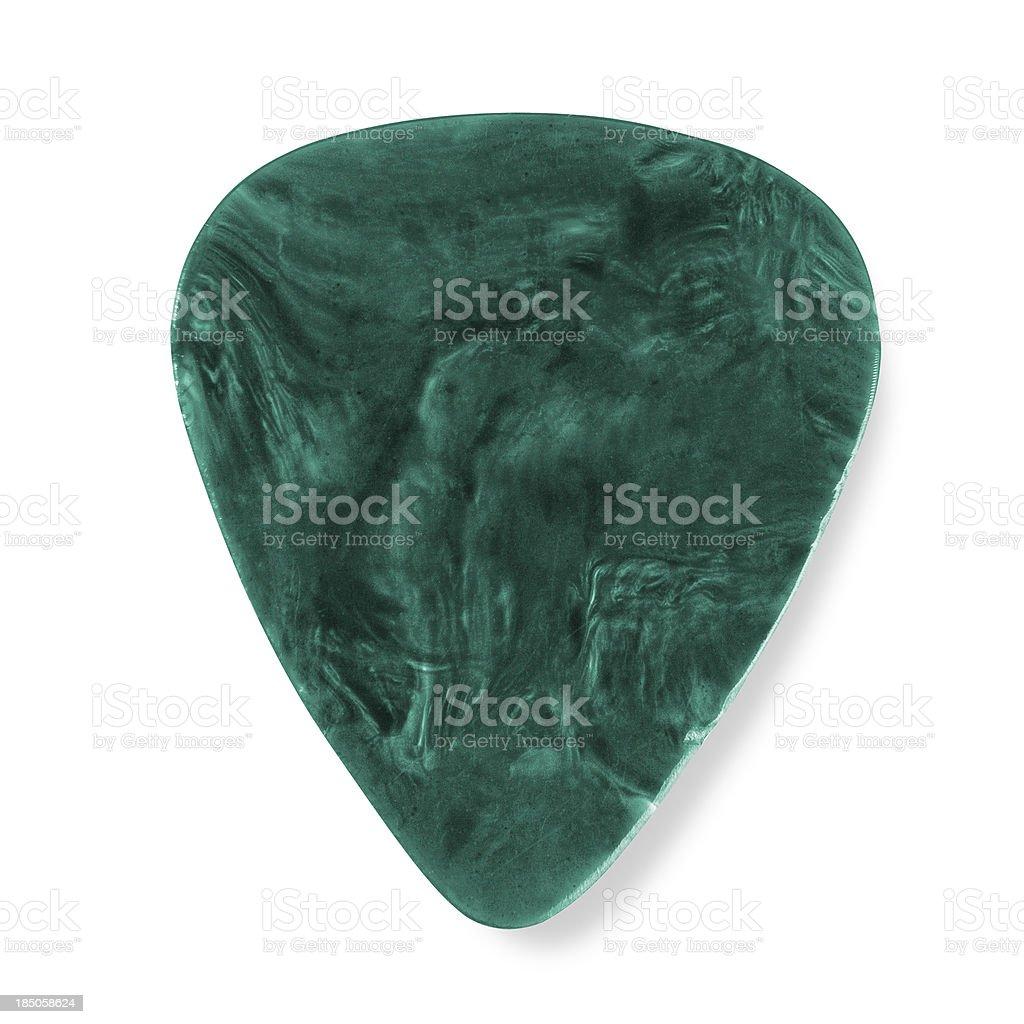 Green Plectrum stock photo