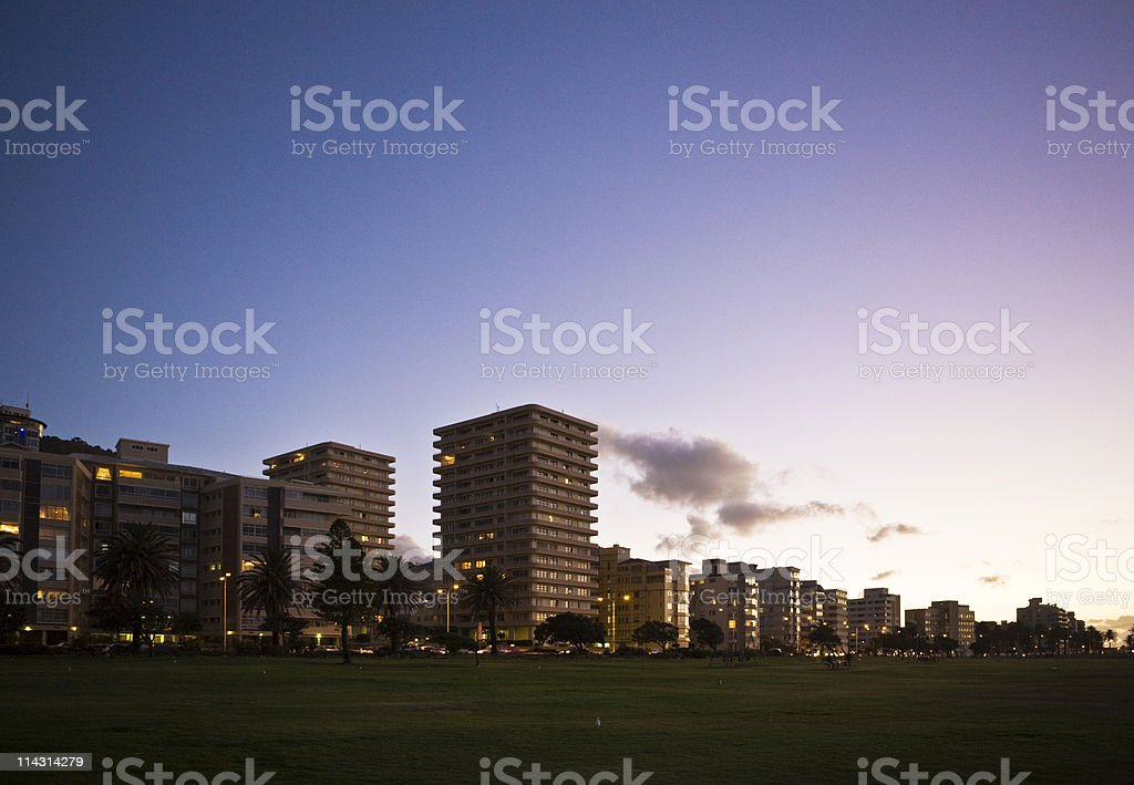 Green Point, Cape Town royalty-free stock photo