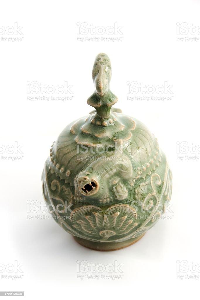 Green Porcelain stock photo