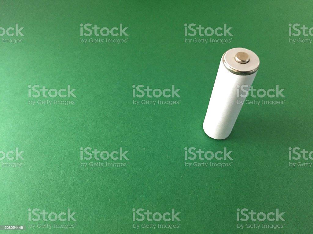green portable energy stock photo