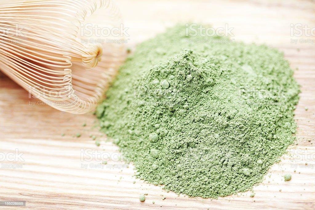 green powder stock photo