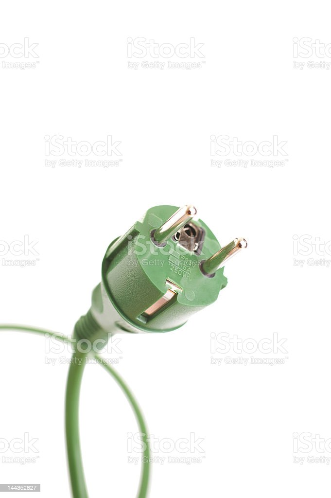 Green power royalty-free stock photo
