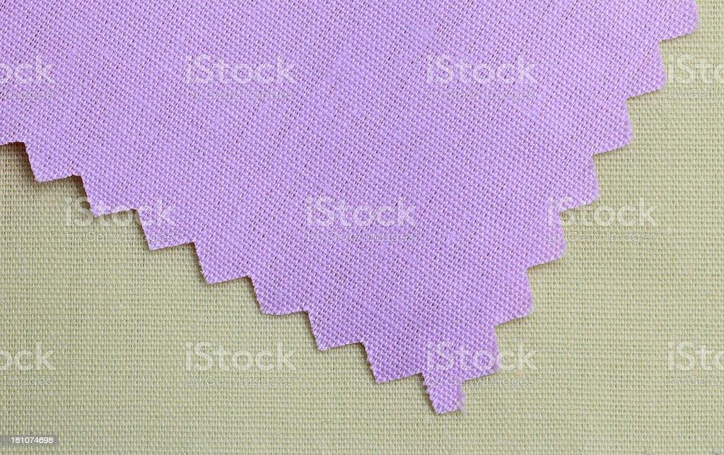 Green Purple Fabric Background royalty-free stock photo