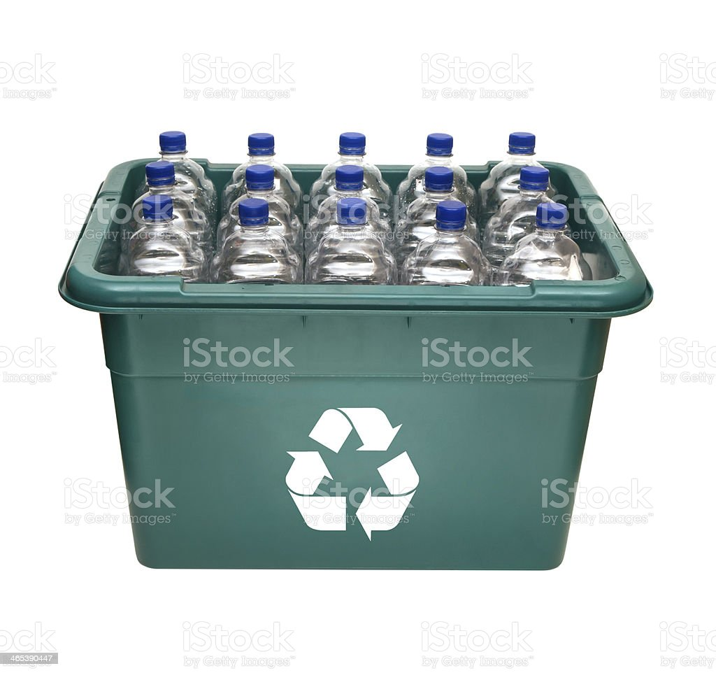 Green Recycle Box royalty-free stock photo