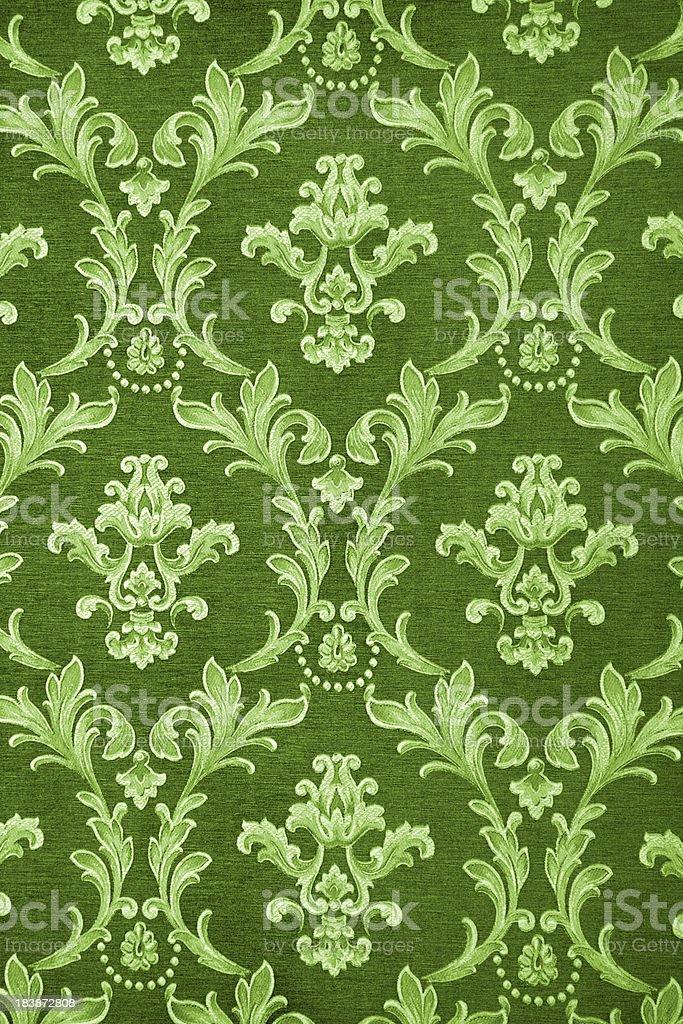 Green Retro Backdrop royalty-free stock photo