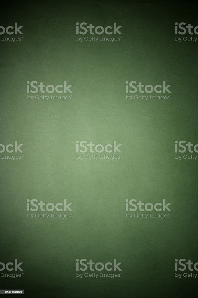 Green rice paper texture background with spotlight stock photo