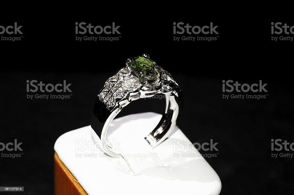 green ring royalty-free stock photo