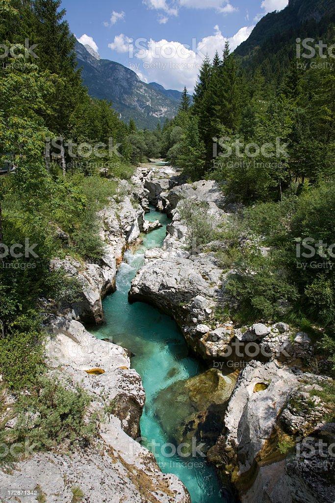 Green River royalty-free stock photo