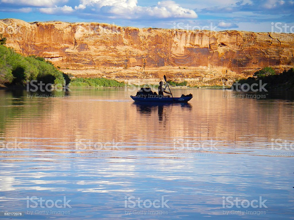 Green River trip stock photo