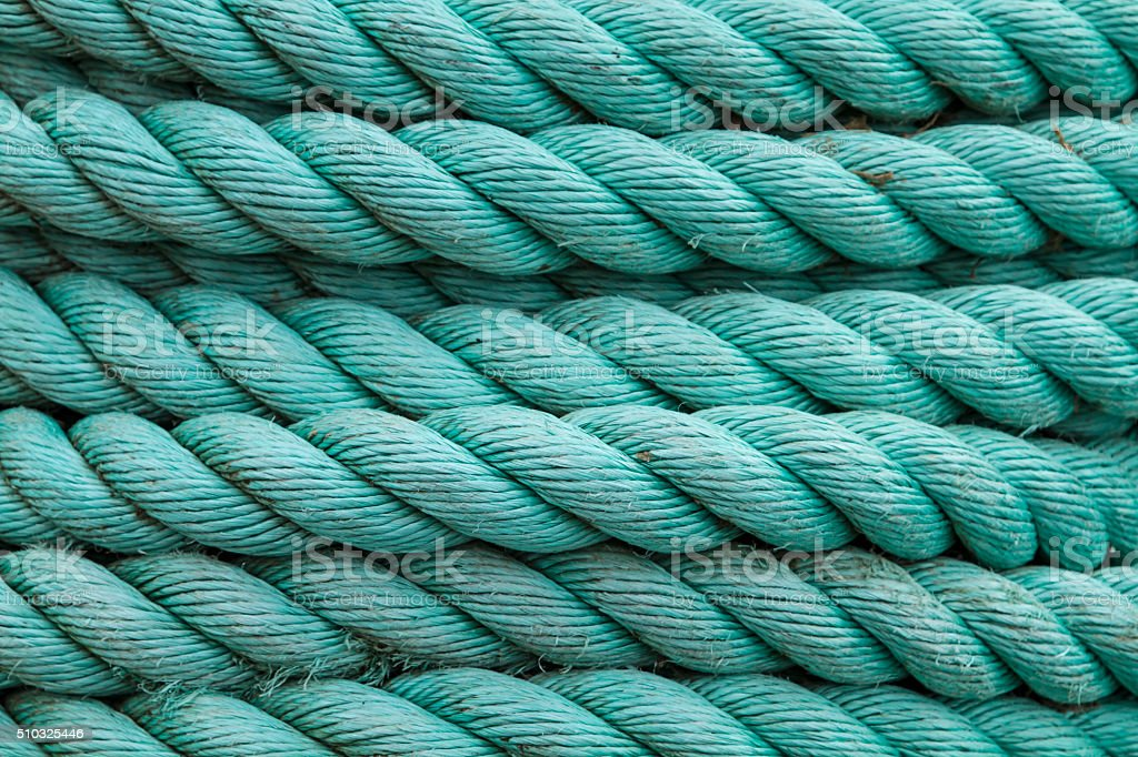 green rope stock photo
