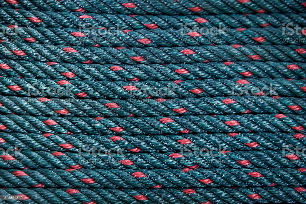 Green Rough rope background stock photo