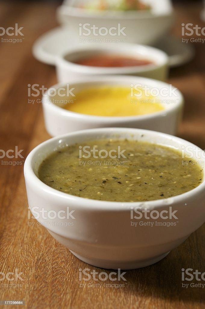 Green Salsa stock photo