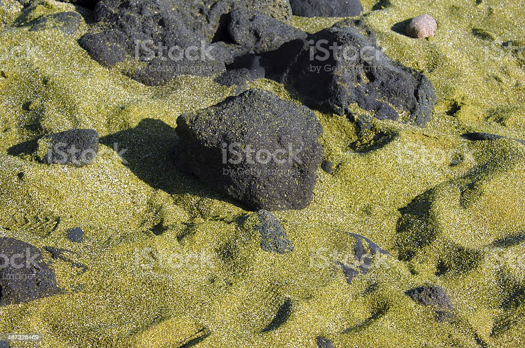 Green Sand stock photo