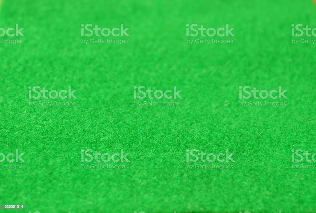 green scourer synthetic sheet texture and background stock photo