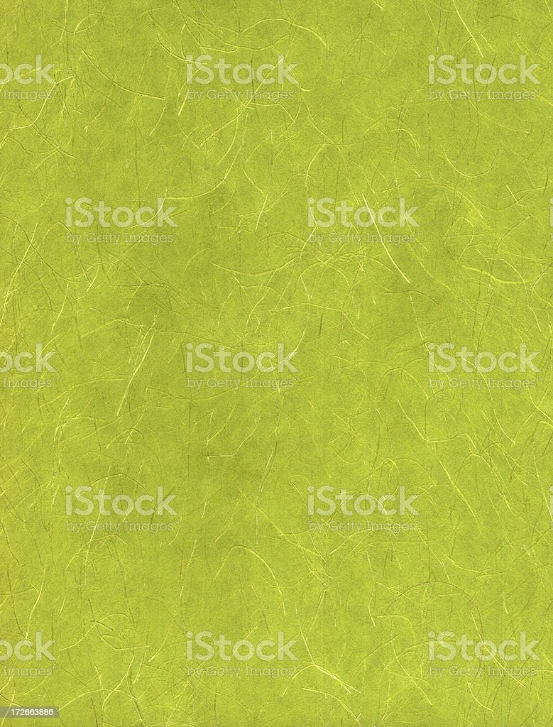 green scratchy stringy paper texture stock photo