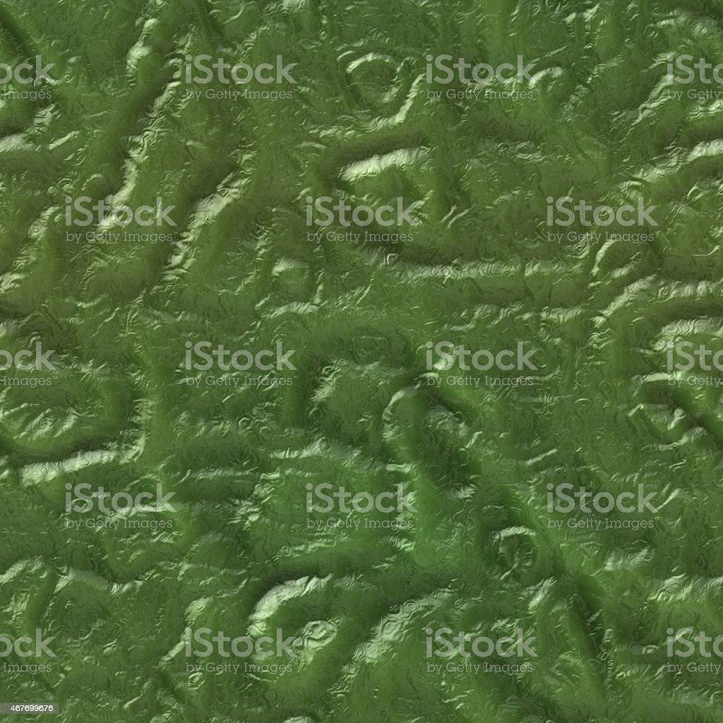 Green seamless alien skin texture stock photo