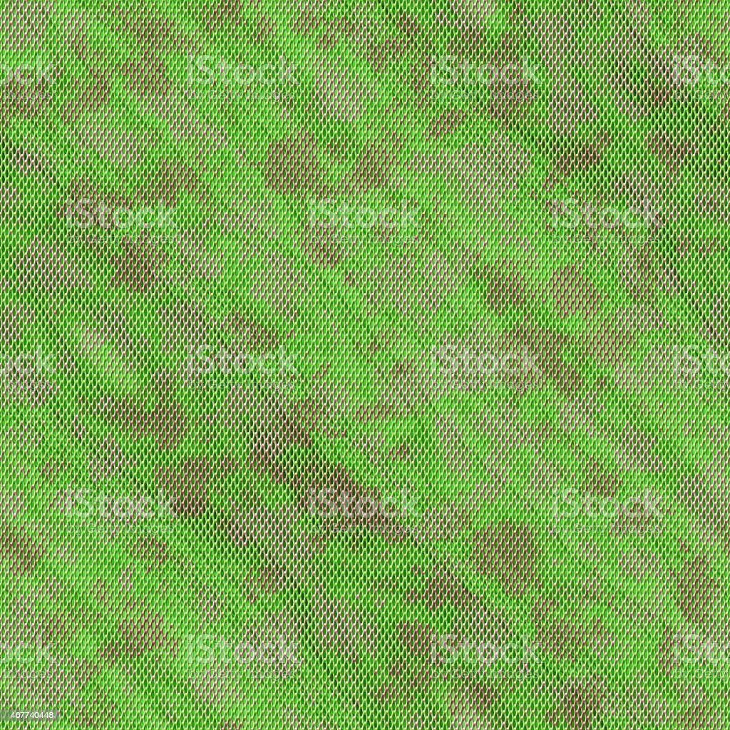 Green seamless wire mesh texture vector art illustration
