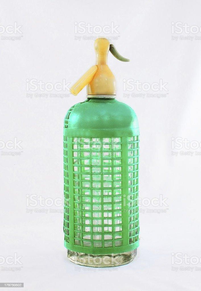 Green seltzer royalty-free stock photo