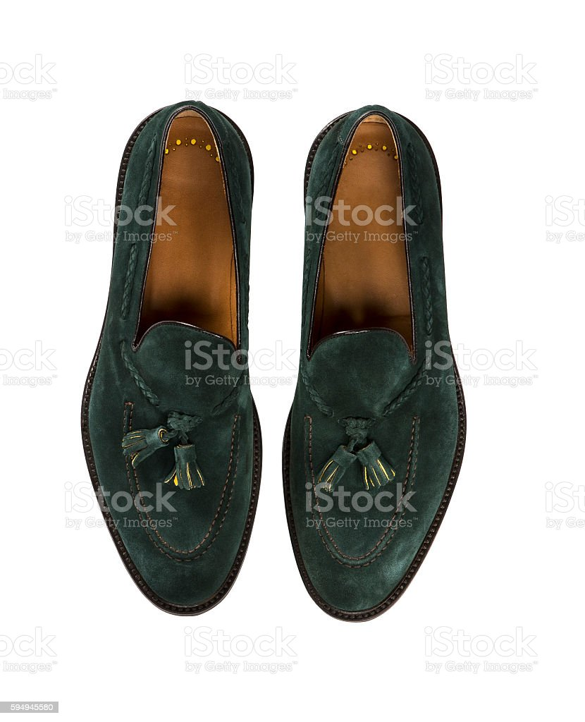 green shoes stock photo
