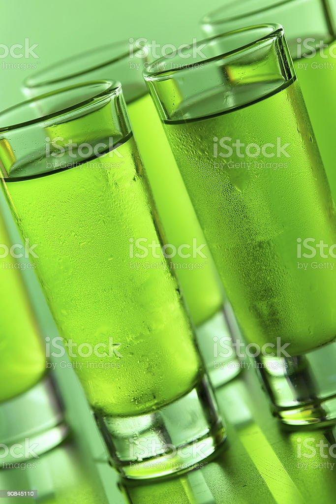 Green shots royalty-free stock photo