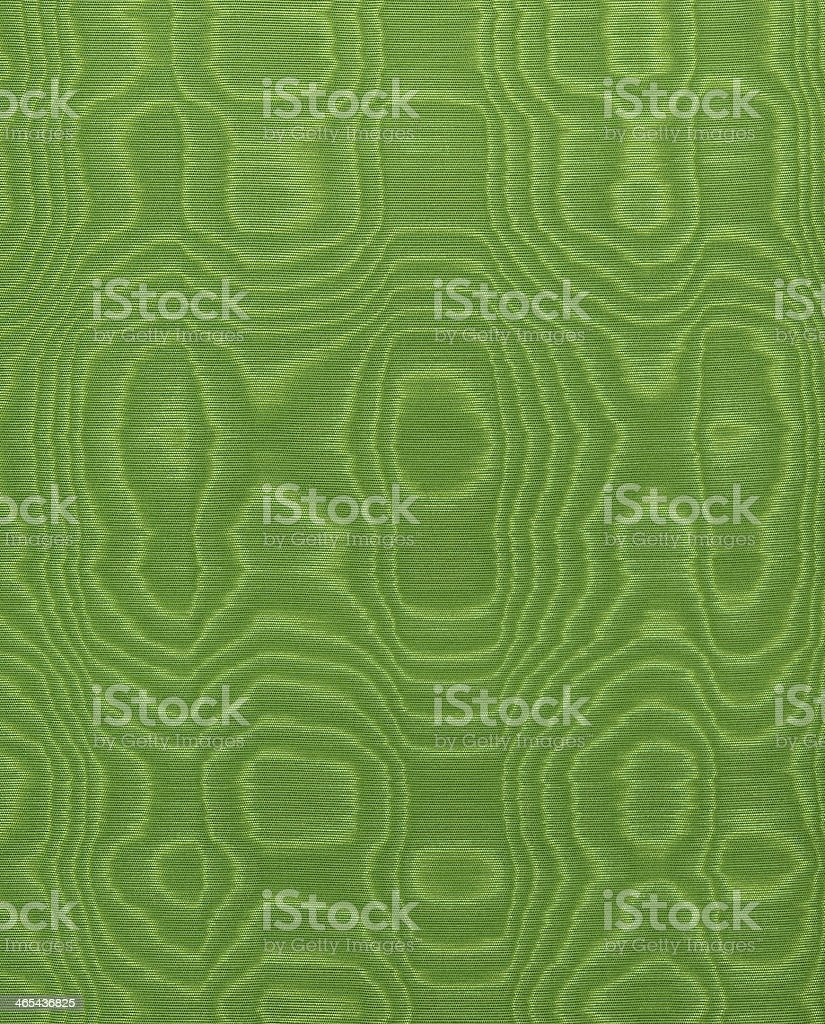 Green silk royalty-free stock photo