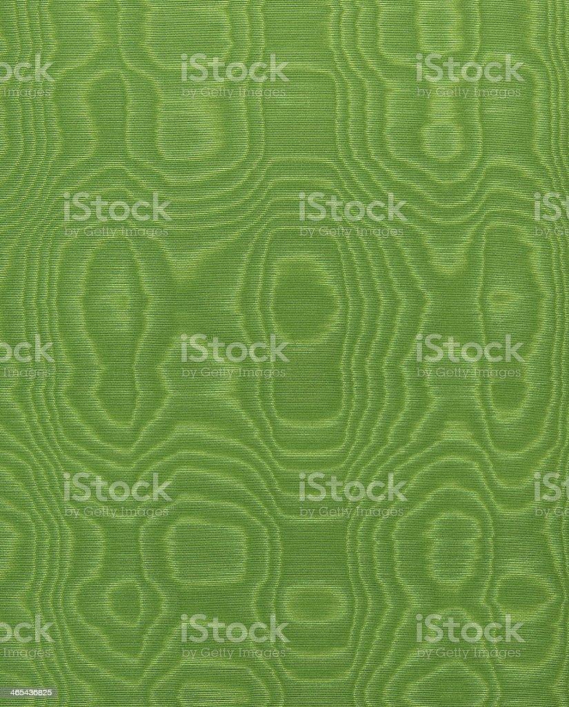 Green silk stock photo