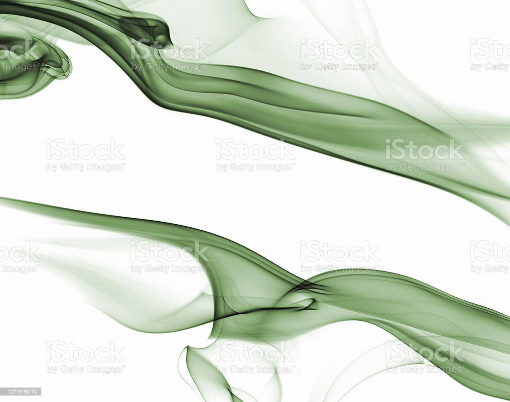 green smoke backgrounds - series royalty-free stock photo