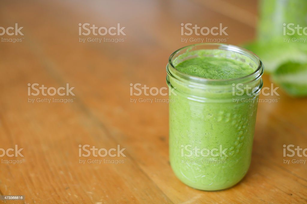 Green Smoothie Horizontal stock photo