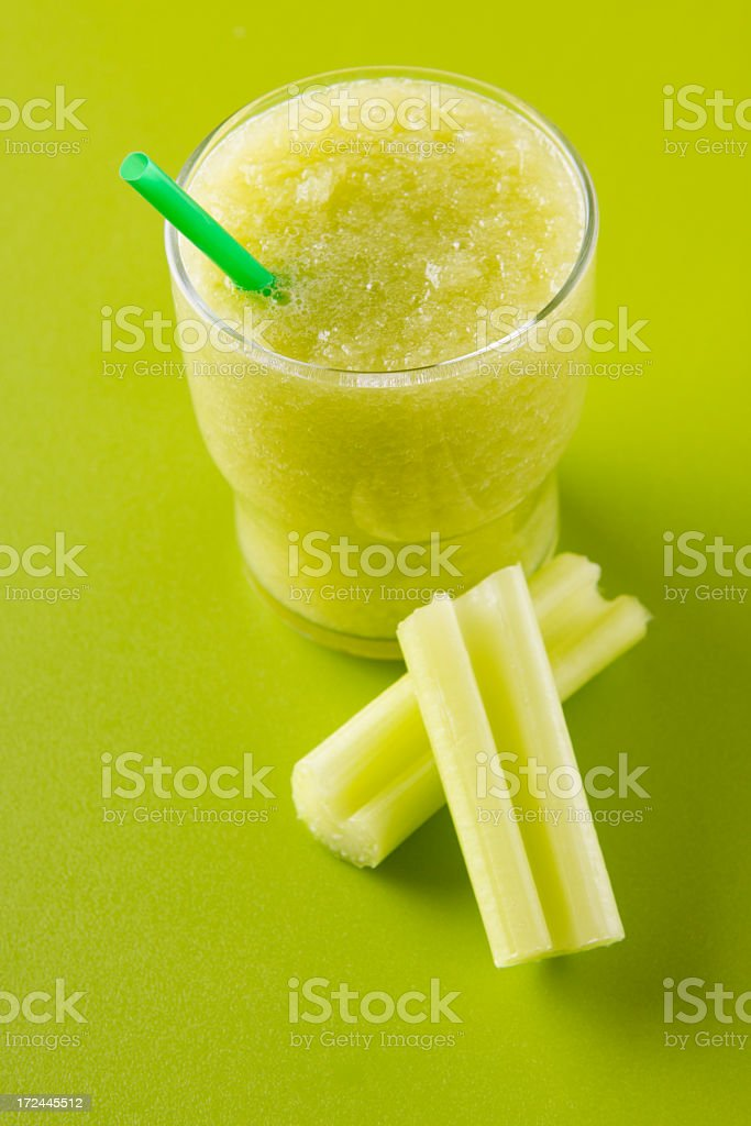 Green smoothie royalty-free stock photo