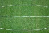 Green soccer/football field