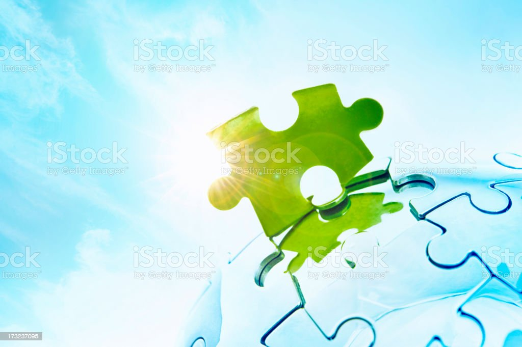 Green solutions royalty-free stock photo