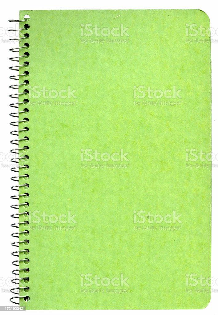 Green Spiral stock photo