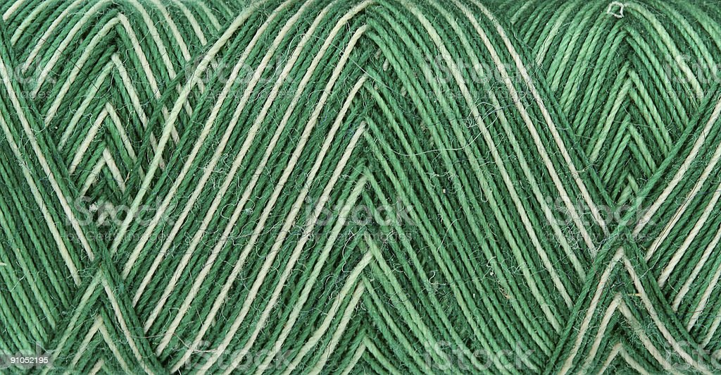 green spool of thread royalty-free stock photo