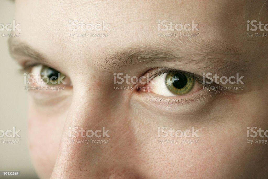 Green stare stock photo