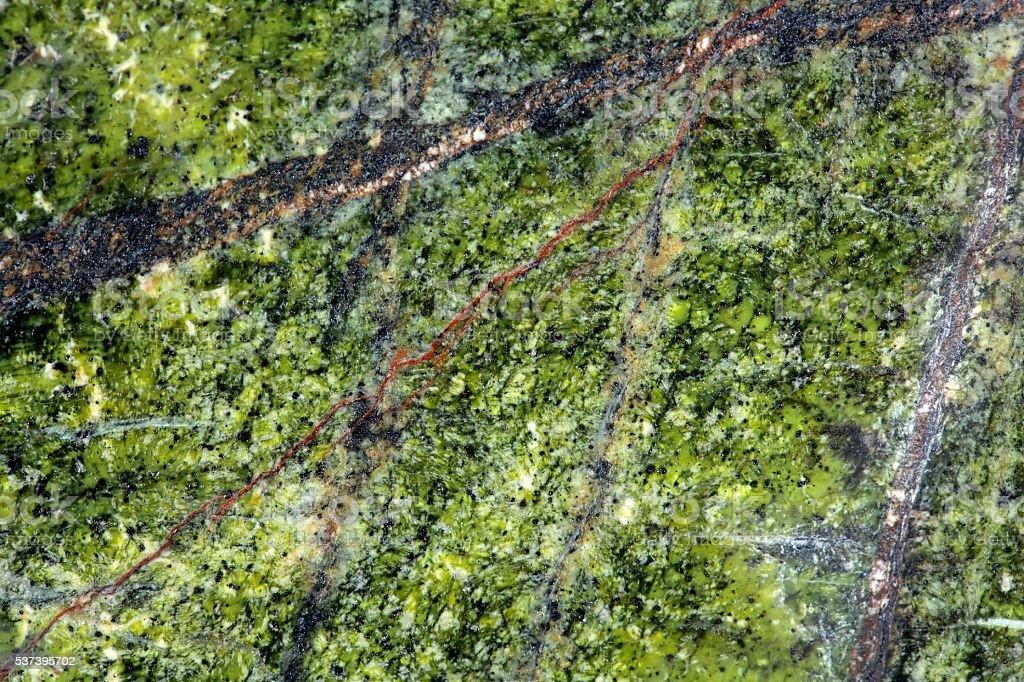 Green stone surface stock photo