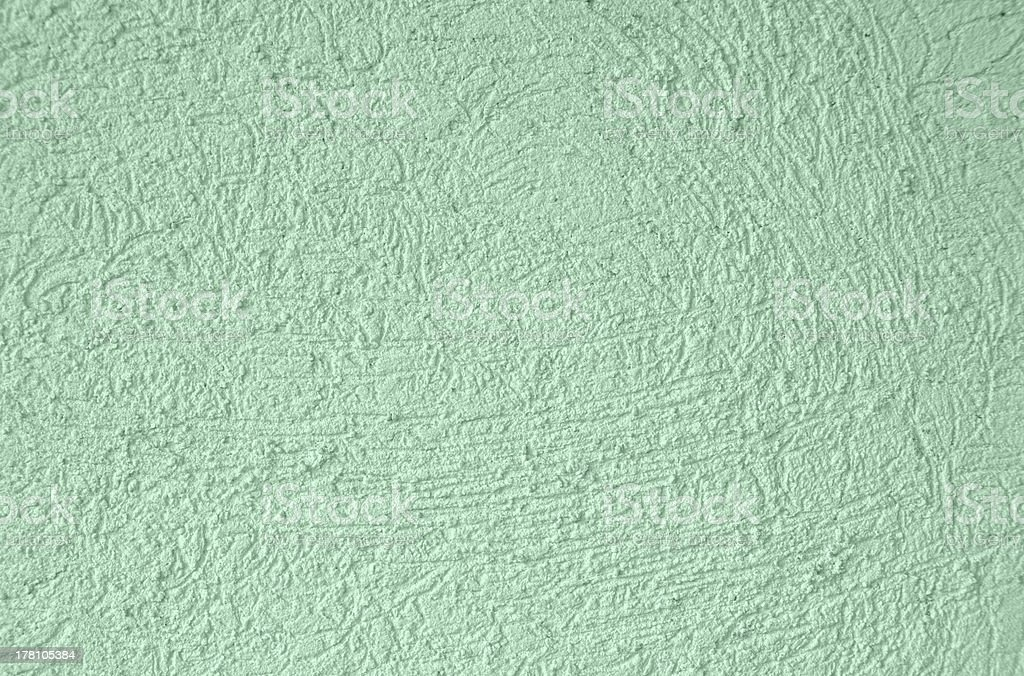 Green stucco background royalty-free stock photo