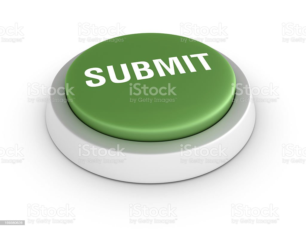 Green SUBMIT Button royalty-free stock photo