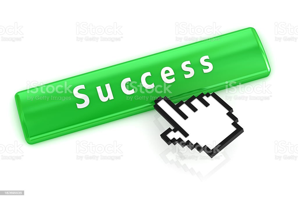 green success button royalty-free stock photo