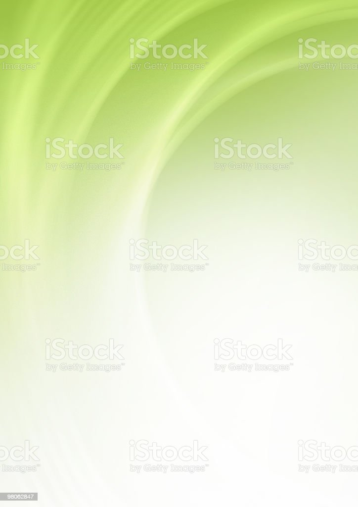 Green Swirls stock photo
