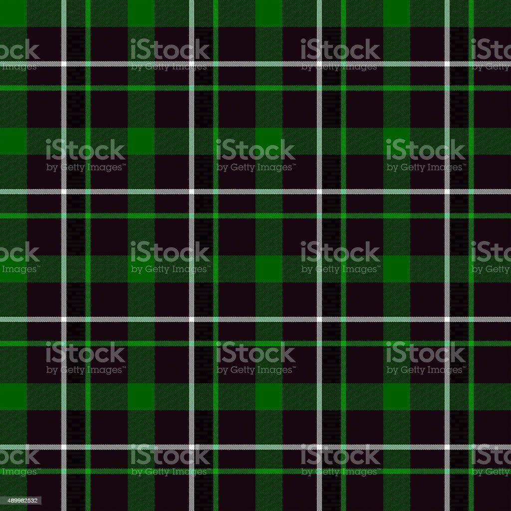 Green Tartan Seamless Pattern stock photo