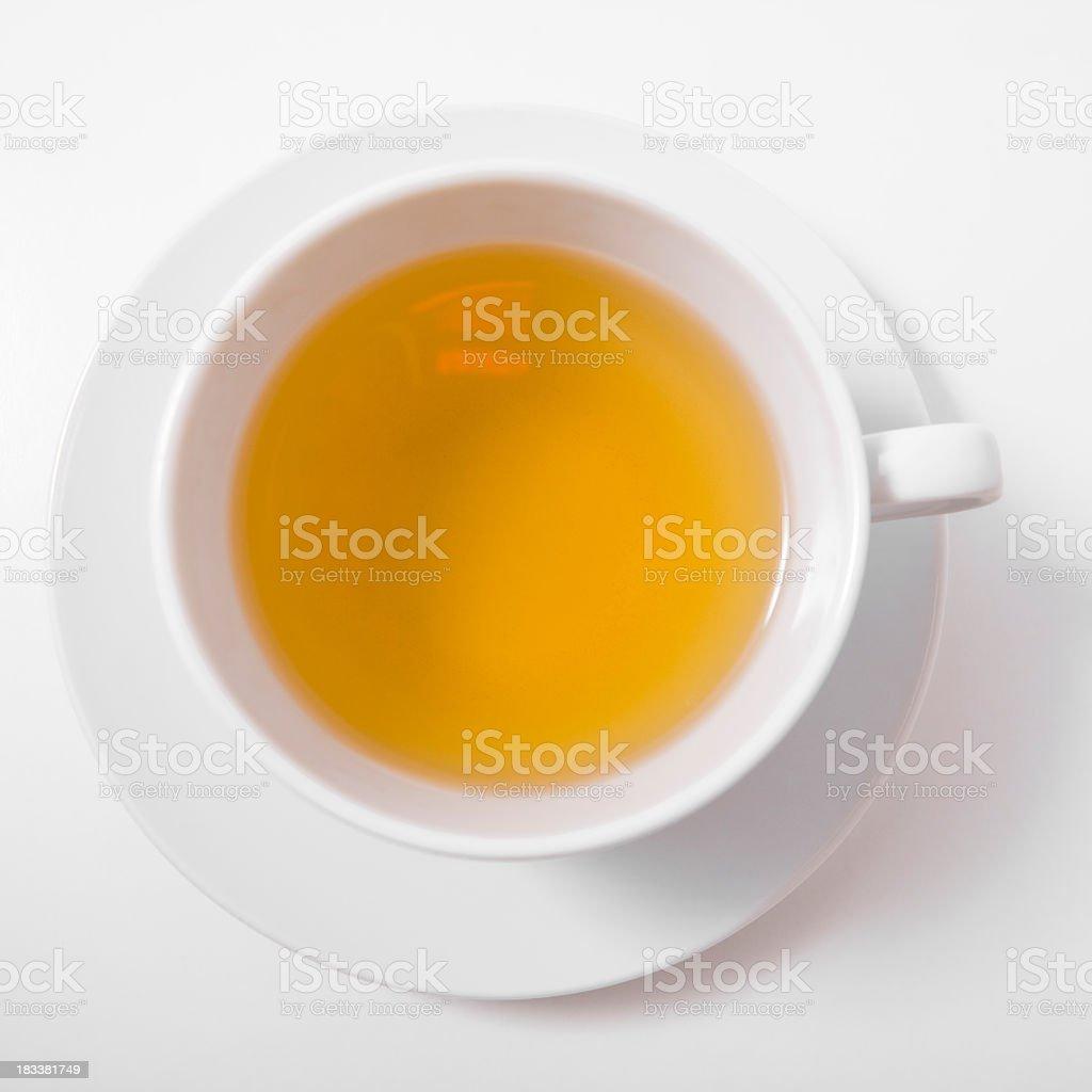 green tea above royalty-free stock photo