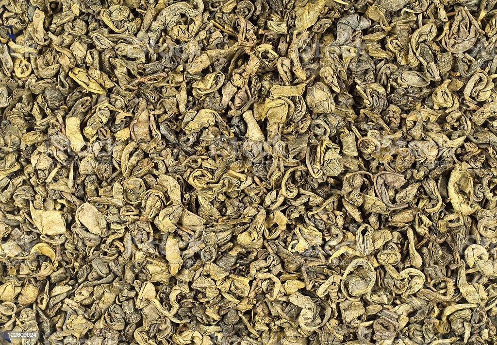 Green tea background stock photo