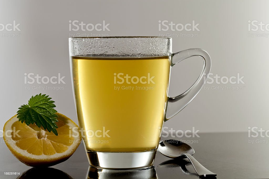 Green Tea in a Glas royalty-free stock photo
