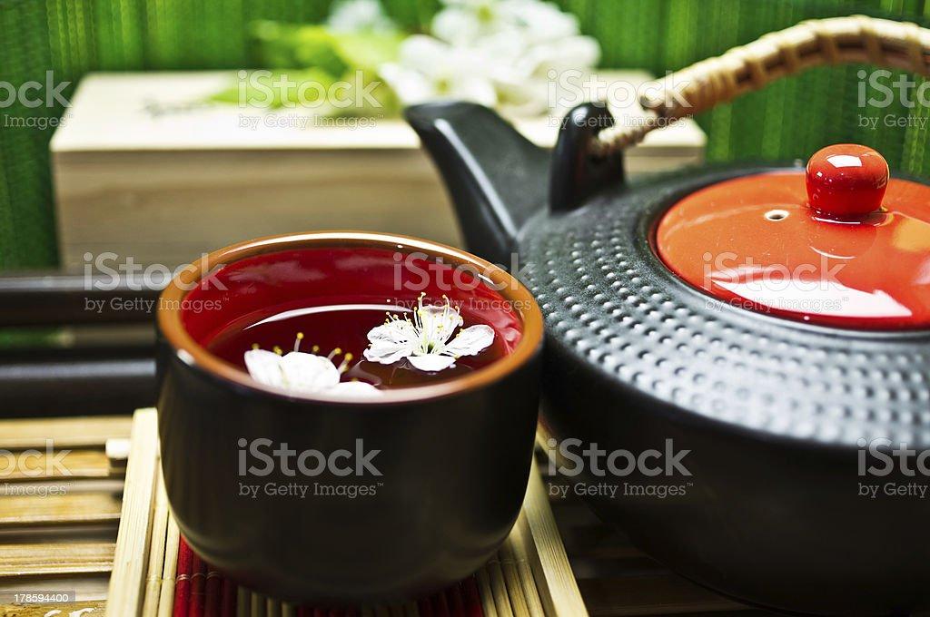 Green Tea royalty-free stock photo