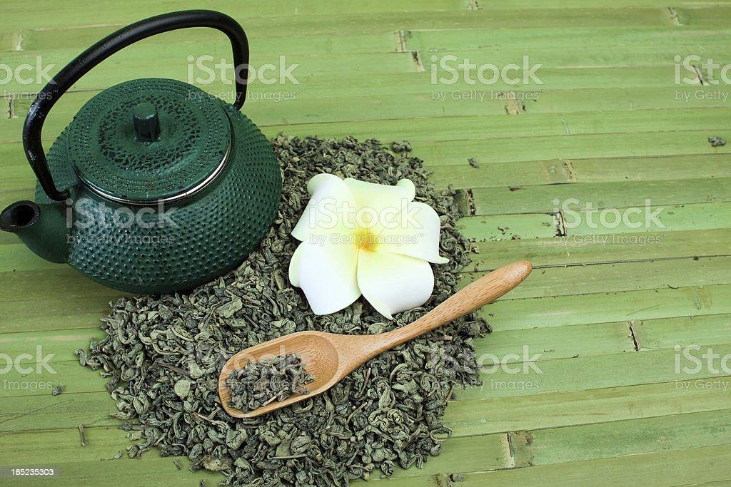 Green tea. royalty-free stock photo