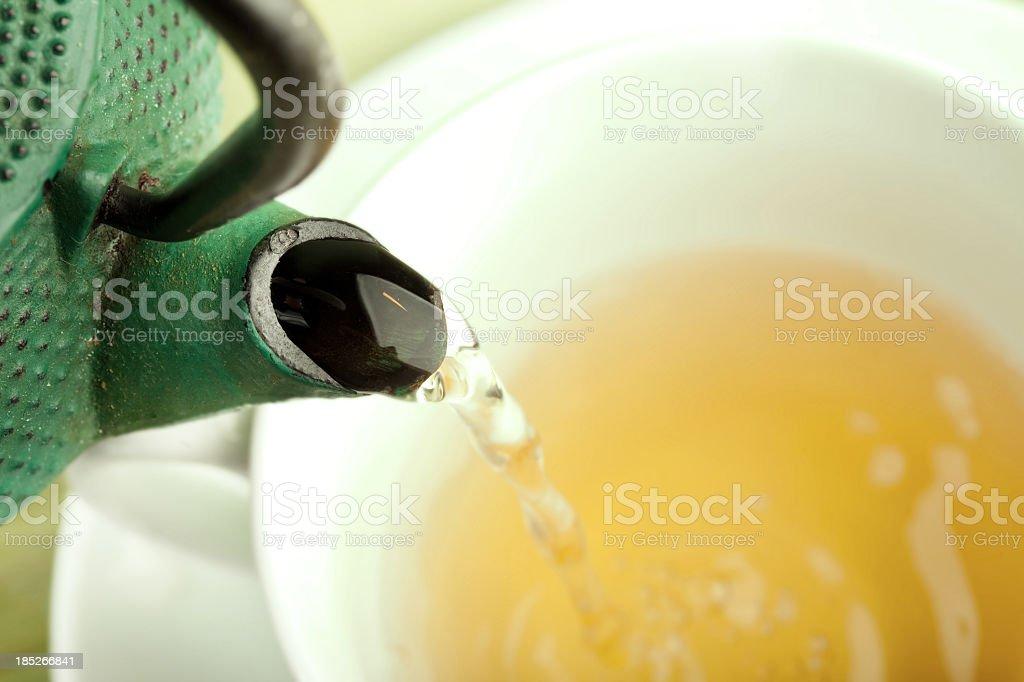 Green tea. stock photo