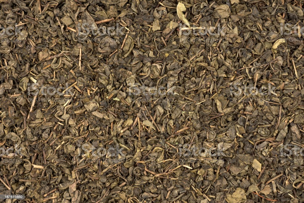 Green Tea Texture royalty-free stock photo